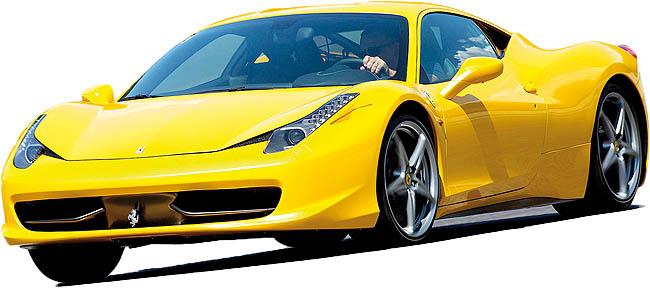 فراری 458 ایتالیا مدل 2012