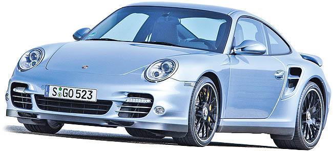 پورشه 911 توربو S مدل 2011