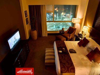 اتاق خواب مشرف به خانه خدا+ عکس