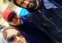 مهناز افشار در پشت صحنه «دارکوب» +عکس