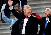 بدرقه اوباما از کاخ سفید توسط ترامپ +عکس