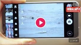 بررسی ویژگی های دوربین گوشی LG G۶ +فیلم