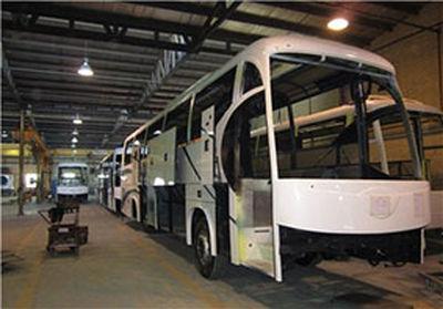 ۲۲.۸ درصد؛ افزایش تولید اتوبوس