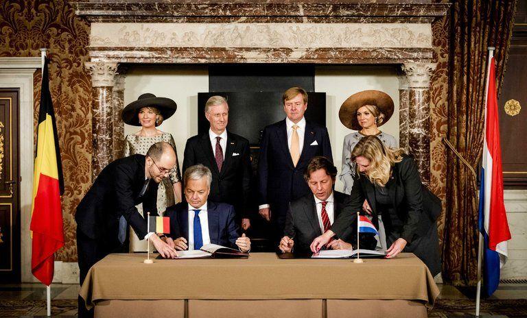 تبادل زمین هلند و بلژیک